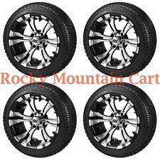 205/30-14 LSI Elite Tire on 14x7 Black/Machined Wheel - FREE Freight.