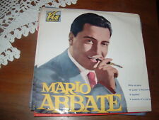 """MARIO ABBATE """" 'O FACHIRO + 3 """"  E.P.  ITALY'59  RARO"""