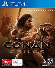 Conan Exiles Day 1 One Edition Fighting Action Adventure Game Playstation 4 PS4