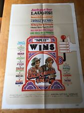 California Split One Sheet Poster Robert Altman George Segal Elliott Gould