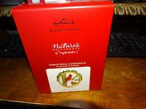 2021 Hallmark Marjolein's Garden Christmas Cardinals Ornament - 8th in series