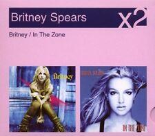 Britney Spears 2 CD Britney / In The Zone Digipak - NEW & SEALED