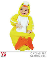 Baby Chick Bonnet And Bib Easter Chick Chicken Fancy Dress Costume