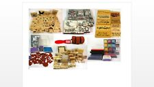 Large Lot of Rubber Stamps 150+ Stamping Up Stamping Around