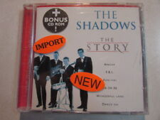 THE SHADOWS - THE STORY 20 TRK COMPILATION 2000 CD + BONUS CD-ROM NEW SEALED OOP