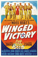 WINGED VICTORY Movie POSTER 27x40 Lon McCallister Jeanne Crain Edmond O'Brien