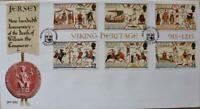 "Jersey Stamps ""Viking Heritage - 900th Anniversary"" First Day Cover 1987"