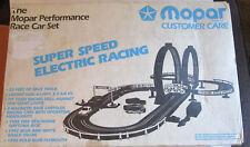 VINTAGE MOPAR PERFORMANCE RACE CAR SET 1/32 SCALE SLOT CAR SET 1992