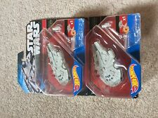 HOT WHEELS-Star Wars Il Forza SCALDA-Millennium Falcon Starship x2