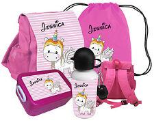 Kindergartenrucksack CHiCO mit Name Motiv Rucksack Einhorn Kinderrucksack