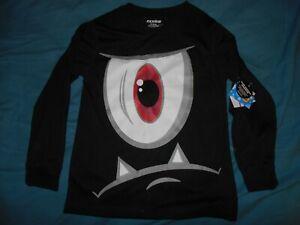 Joe Boxer Boys Size 8 Longsleeve Eyeball Shirt