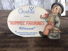 DEALER HUMMEL FIGURINES Wanderer Store Display Collectors Plaque Tmk5
