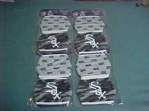 Chicago White Sox Foco Face Cover Masks 2 Pack Bulk Lot of 4 Liquidation-8 Total