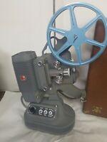 Rare vintage 1946 8mm DeJUR model 1000 projector with hard case