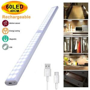 Unterbauleuchte LED USB Lichtleiste Küche Lampe Beleuchtung Schrank Leuchte