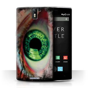 STUFF4 Case/Cover for OnePlus One/Eye/Iris/Green