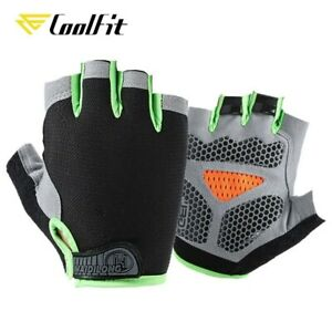 Cycling Anti-sweat Men Women Half Finger Gloves Breathable Sports Bicycle Glove