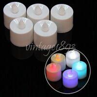 6 pcs LED Tea Light Flameless Flickering Battery Candles Wedding Party Christmas