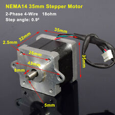 Nema14 35mm 2 Phase Hybrid Stepper Motor For Reprap Cnc Prusa Rostock 3d Printer