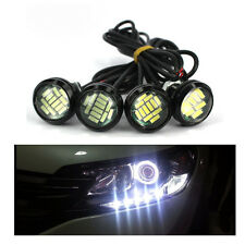 Ojo de águila blanco 12V 15W LED DRL luz Auto Lámparas LED coches bulbo