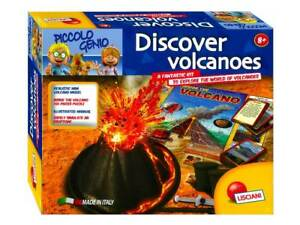 Piccolo Genio Discover Volcanoes Science Kit Educational Model Puzzle Eruption