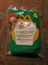 1996 Barbie Happy Holidays Doll #4 McDonald's Happy Meal Toy