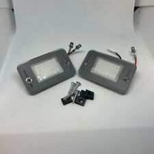 LAND ROVER DISCOVERY 1 & 2 NEW LED LICENSE NUMBER PLATE LAMP LIGHTS & BULBS (X2)