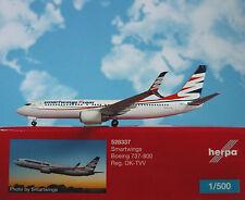 1/500 Herpa Boeing 737-800 Smartwings Reg. Ok-tvv 528337