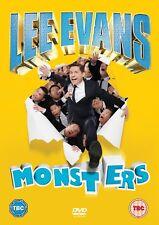 Lee Evans Monsters Live Region 4 New DVD