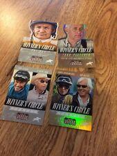 Panini Americana - 4 Winners Circle Horse Racing Cards