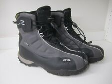 Salomon Mens B52 Snow Winter Boots Black Bungee Lace Up Waterproof 12