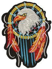 ecusson Flicken Rückenlage Rücken Großformat Adler Indian Flicken Grand bestickt