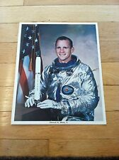 ONE-OF-KIND SIGNED 8x10 NASA/Apollo - Ed White to Franklin Roosevelt's Grandson