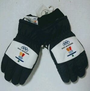 Le Gant Paris 2010 Vancouver Olympics Winter Gloves. Ladies Large. Rare. NWT.