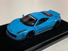 1/64 Ferrari 458  Liberty walk LB Performance Baby Blue