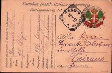 FRANCHIGIA 1916 1° RGT ALPINI 116 COMPAGNIA ZONA DI GUERRA BTG MERCANTOUR C4-950
