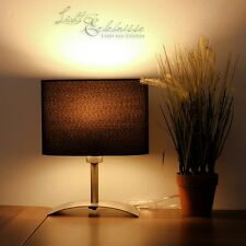 LED Noir Lampes de chevet table 4W Hôtel