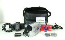 Sony Digital 8 DCR TRV-460 Handycam Digital Video Recorder  Remote Cables Tape
