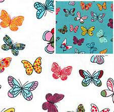 Cotton Poplin Butterfly Fabric Material - 0704