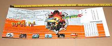 1997 Nintendo 64 n64 Lylat Wars/Star Fox 64 prueba piloto buscando publicidad
