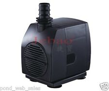 new JEBAO WP-2000 530GPH SUBMERSIBLE AQUARIUM FOUNTAIN WATER FALL POND PUMP 45W