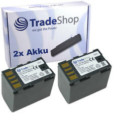 2x AKKU für JVC GZ-HD6ex GZ-HD7 GZ-HD-7 GZHD-6ex GZHD-6