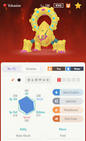 SHINY 6IV Volcanion - Pokemon Home LEGENDARY
