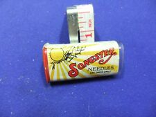 vtg needle tin plastic songster loud tone needles sheffield gramophone record