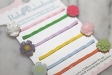 Flower bobby pins make adorable party favors, birthday gifts or everyday hair!