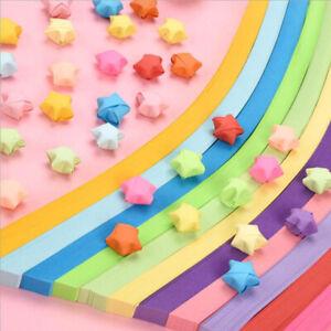 675 pièces papier pliant bande de papier étoile chanceuse rubans origami ar Mpib