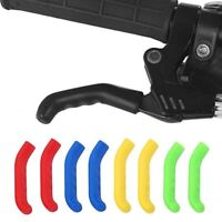 1Pair Bike Brake Lever Grips Protectors Handle Covers Mountain MTB BMX Cycle Red