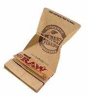 "RAW Artesano 1 1/4"" Rolling Papers with Tips & Rolling Tray Brand New"