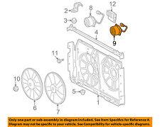 TOYOTA OEM-Radiator Cooling Fan Motor 1636328170