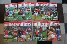 More details for bundle rotherham united fc football programme's x8 2003 inc signed autographed